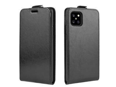Калъф Тефтер Vertical -  Samsung Galaxy A81 / Note 10 Lite - Black