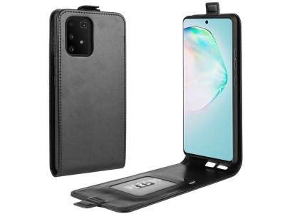 Калъф Тефтер Vertical -  Samsung Galaxy S10 Lite / A91 - Black