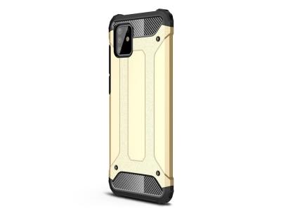 Удароустойчив калъф гръб Armor - Samsung Galaxy A81/Note 10 Lite - Gold