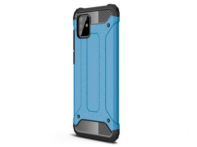 Удароустойчив калъф гръб Armor - Samsung Galaxy A81/Note 10 Lite - Baby Blue