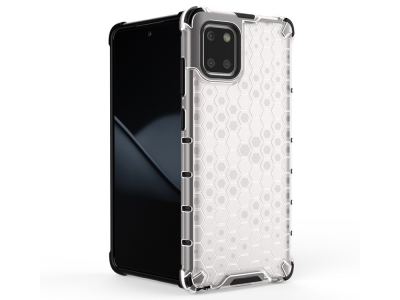 Пластмасов Гръб Shock Absorber - Samsung Galaxy A81/Note 10 Lite - White