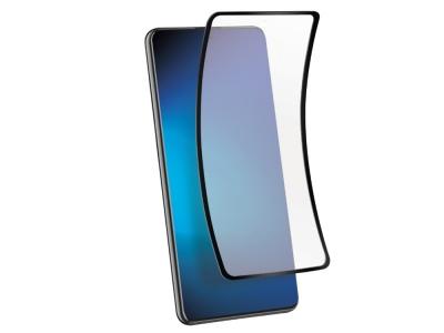 Удароустойчив Протектор 5D Full Glue Nano Glass за Samsung Galaxy S20 Plus , Черен
