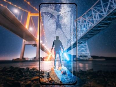 Стъклен Протектор Full Glue 5D за Huawei P40 Lite, Черен