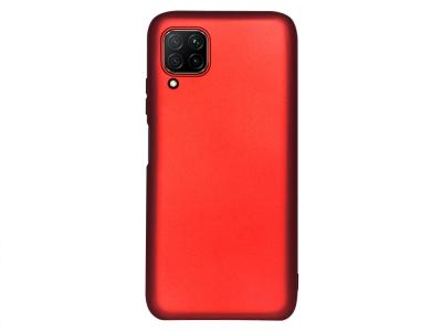 Силиконов гръб Level за Huawei P40 Lite, Червен