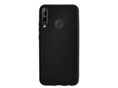 Силиконов гръб Level за Huawei P40 Lite E, Черен
