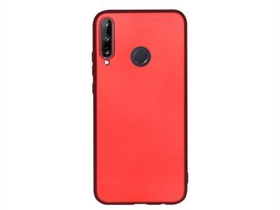Силиконов гръб Level за Huawei P40 Lite E, Червен