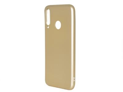 Силиконов гръб Level за Huawei P40 Lite E, Златист
