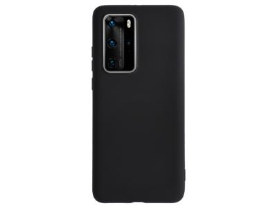 Силиконов гръб Level за Huawei P40 Pro, Черен
