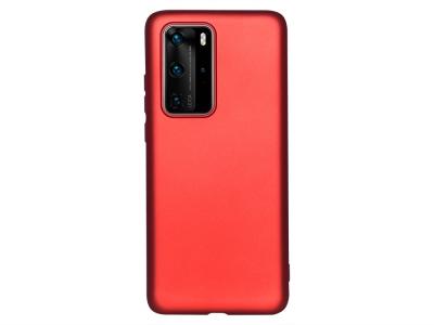 Силиконов гръб Level за Huawei P40 Pro, Червен