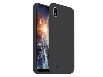 Калъф Гръб Lite MATTE  - Samsung Galaxy A10 - Black