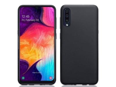 Калъф Гръб Lite MATTE  - Samsung Galaxy A50 - Black