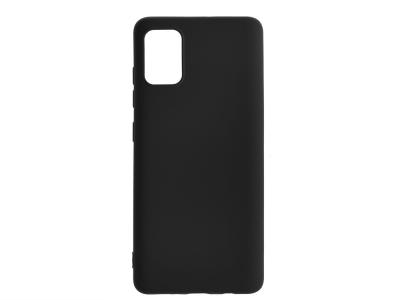 Силиконов Гръб Level - Samsung Galaxy A51 - Black