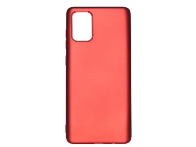 Силиконов гръб Level за Samsung Galaxy A51, Червен