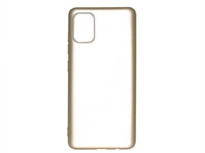 Силиконов гръб Level за Samsung Galaxy A51, Златист