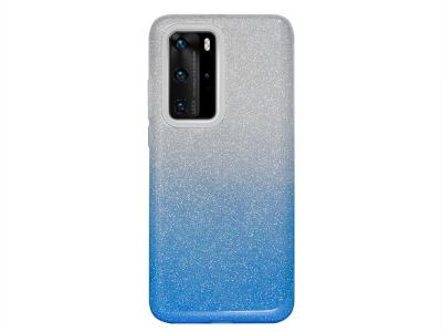 Силиконов Гръб BLING за Huawei P40 Pro, Син