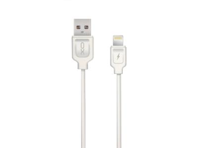 USB Кабел XO NB36 към Lightining ( iPhone), Бял