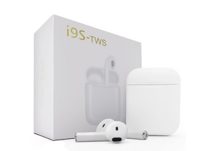 Bluetooth Слушалки TWS I9s, Бял