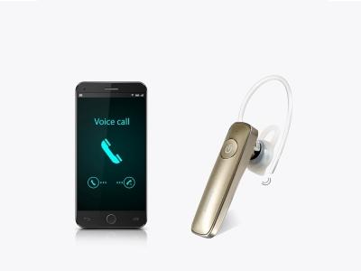 Безжична bluetooth слушалка REMAX RB-T8 (multipoint), Златист