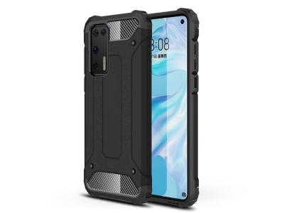 Удароустойчив гръб Armor за Huawei P40, Черен