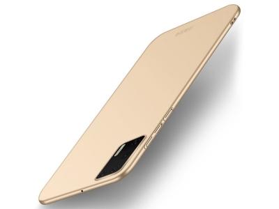 Пластмасов Гръб MOFI за Huawei P40, Златист