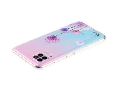 Силиконов гръб за Huawei P40 lite/nova 7i/nova 6 SE, Глухарче