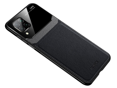 Удароустойчив гръб Hibrid за Huawei P40 Lite / Nova 7i / Nova 6 SE, Черен