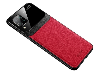 Удароустойчив гръб Hibrid за Huawei P40 Lite / Nova 7i / Nova 6 SE, Червен