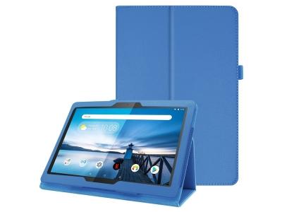 Калъф Тефтер Litchi Texture - Lenovo Tab M10 TB-X605F - Blue