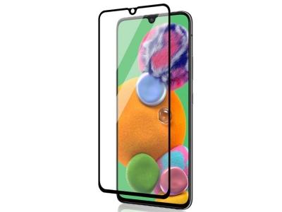 Стъклен протектор Full Glue 5D за Samsung Galaxy A41, Черен
