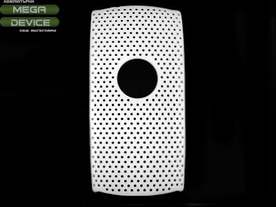 PVC ГРЪБ МРЕЖА ЗА Sony Ericsson Vivaz U5I - White