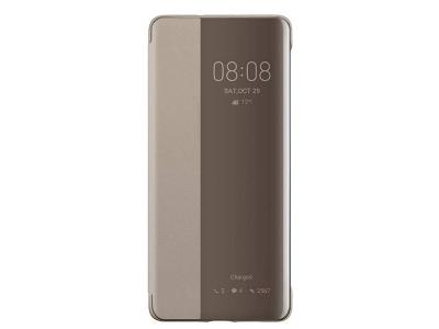 Калъф тефтер View Cover за Huawei P30 Pro, Златист