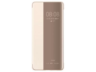 Калъф тефтер View Cover за Huawei P30, Златист