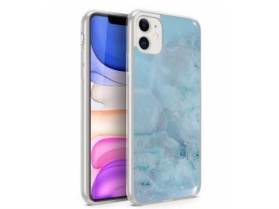 Силиконов Гръб Marble за Iphone 11, Design 3