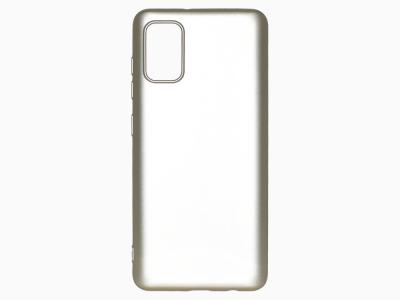 Силиконов Гръб Level за Samsung Galaxy A41, Златист