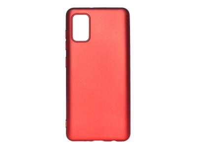 Силиконов Гръб Level за Samsung Galaxy A41, Червен