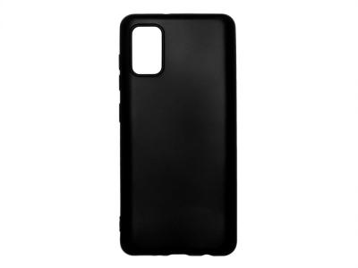 Силиконов Гръб Level за Samsung Galaxy A41, Черен