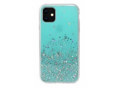 Удароустойчив гръб Glitter за Iphone 11 Pro (5.8), Мента