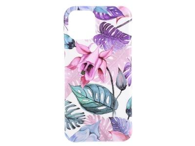 Силиконов Гръб Flower за iPhone 11, Бегония