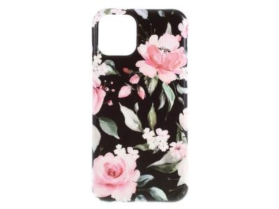Силиконов Гръб Flower за iPhone 11, Божур