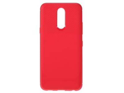 Силиконов гръб Carbon за LG K40/K12+/K12 Plus, Червен
