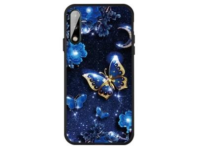 Силиконов гръб Matte за Huawei P40 Lite E/Y7P, Пеперуди