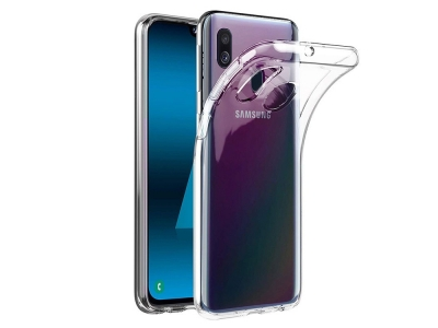 Силиконов гръб Jelly Mercury за Samsung Galaxy A40, Прозрачен