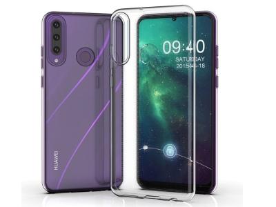 Силиконов гръб 0.5mm за Huawei Y6P, Прозрачен