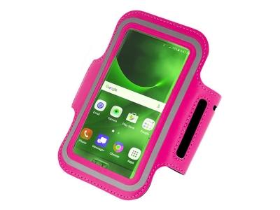 Спортен калъф за ръка за Huawei P40/Iphone 7 Plus/8 Plus/11/Samsung S10/S20 (5.5 Inches), Розов