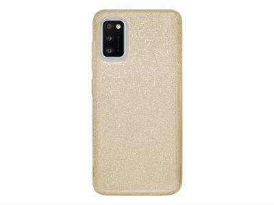 Силиконов Гръб SHINING за Samsung Galaxy A41, Златист