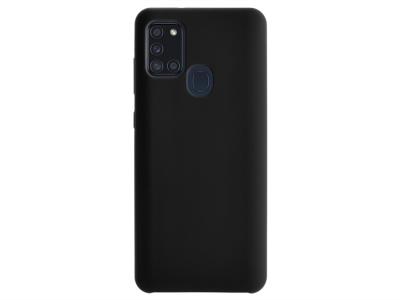 Калъф Гръб Lux за Samsung Galaxy A21S, Черен