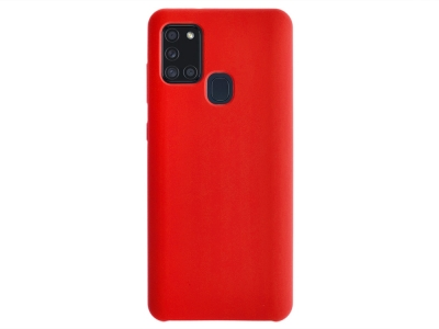 Калъф Гръб LUX за Samsung Galaxy A21S, Червен