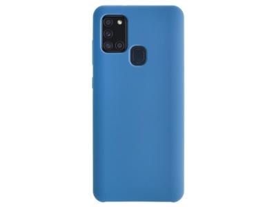 Калъф Гръб LUX за Samsung Galaxy A21S, Син