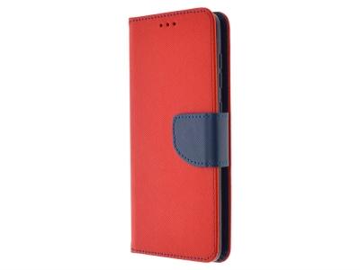 Калъф Тефтер Fancy за Samsung Galaxy A31, Червен/ Син