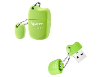 Флаш памети Apacer 32GB AH159 USB 3.1 Gen1, Зелен